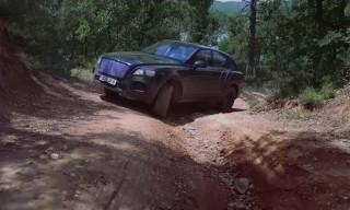 Watch the New Bentley Bentayga Tear It up Off-Road