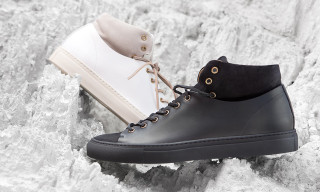 """Buttero Adds a Suede """"Spat"""" to the Tanino Sneaker for Fall 2015"""