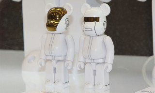 Medicom Toy Presents White Suit Versions of Daft Punk Bearbricks