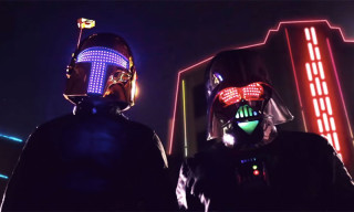 "Daft Punk Travel to a Galaxy Far, Far Away in ""Darth Punk"""