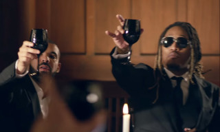 "Future and Drake Share a Fancy Meal in ""Where Ya At"""