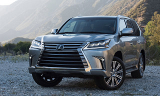 Lexus Unveil a Refreshed LX 570 for 2016
