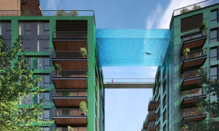 Glass-Bottomed Swimming Pool to Be Suspended Above South London