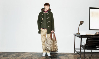 HEAD PORTER Showcases an Array of Patterns and Prints for Fall/Winter 2015