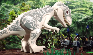 'Jurassic World' Gets Retold in 90-Second LEGO Animation