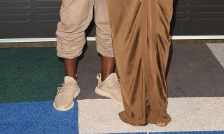 "Kanye West Spotted on the VMA Red Carpet in adidas Yeezy Boost 350 ""Beige"""