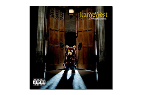 Interactive Sample Infographic for Kanye West's 'Late Registration'