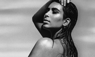Kim Kardashian West Poses Topless While Pregnant for 'C' Magazine