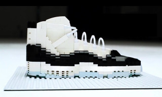 "LEGO Air Jordan 11 ""Concord"" Showcased in Stop Motion Video"