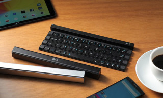 LG Unveils Wireless Keyboard That Can Fit in Your Pocket