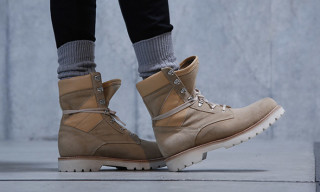 monkey time and Caminando Reappropriate the Army Boot for Fall 2015