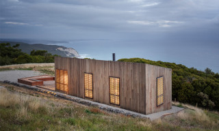 Jackson Clements Burrows' Moonlight Cabin on the Coast