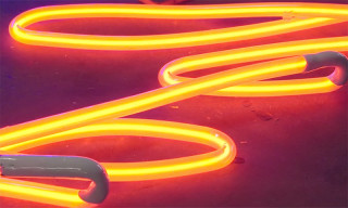 Neon Sign Bending Is a Craft That Takes Patience