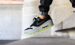 "Nike Kits Out the Air Max 1 in a ""Grey/Black/Volt"" Colorway"