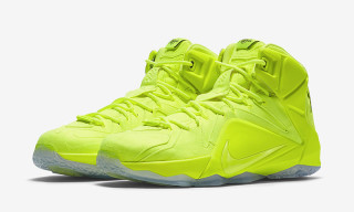 Nike LeBron 12 EXT Returns in 'Volt'