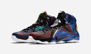 "Nike's ""What The"" LeBron 12 Showcases a History of Nike Design"