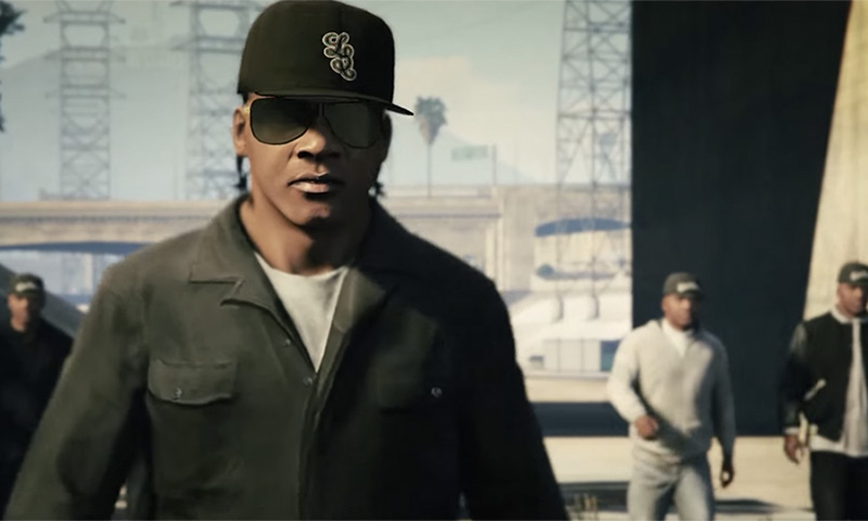 """N.W.A's """"Straight Outta Compton"""" Remade in 'GTA V ..."""