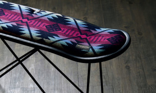 Pendleton Partners With MADE BY SEVEN -Reuse- on Skate Deck Stools