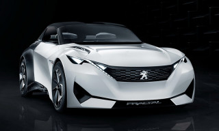 Peugeot's New Fractal Concept Boasts a Retractable Roof