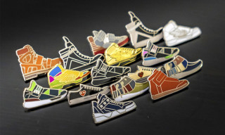 PINTRILL Goes High-End With New Luxury Sneaker Pins