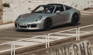 Porsche Revisits the Targa Florio in Sicily to Showcase the 911 Targa 4S Exclusive Mayfair Edition