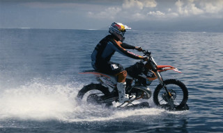 Robbie Maddison Makes History as First to Surf Waves on Motorcycle
