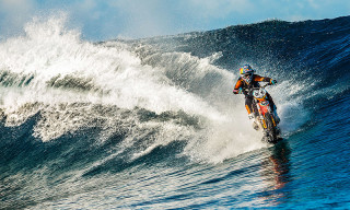 Robbie Madison Details His Historic Ride Surfing Waves on a Motorcycle