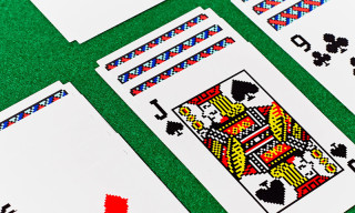 Original Solitaire Artwork Featured on Set of Playing Cards