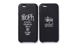 Stussy x SOPHNET. Leather iPhone 6 Case