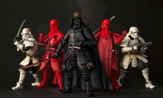 'Star Wars' Samurai Figurines Keep Getting Better