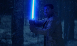 New 'Star Wars: The Force Awakens' Teaser Shows off Finn's Lightsaber