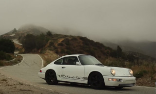 "Take a Ride in the Hot Rod-Inspired Porsche 964 Dubbed ""The Growler"""
