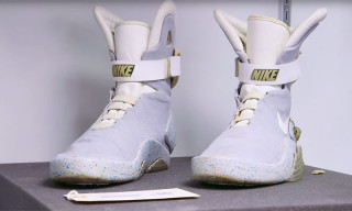 The Real Nike Air Mag Worn by Marty McFly Actually Still Exists Today