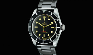 Tudor Pays Homage to Historical Timepiece With the Heritage Black Bay One