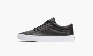 Vans Drops Premium Leather Black & White Versions of the Old Skool Silhouette