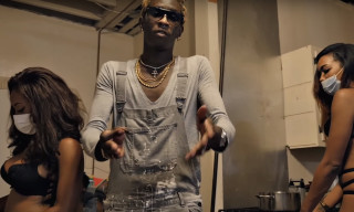 "Go Inside a Trap House in Young Thug's Video for ""Again"" ft. Gucci Mane"