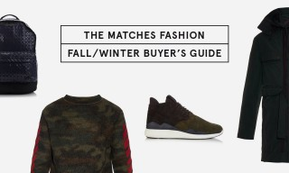 MATCHESFASHION.COM Present Their Fall/Winter Buyer's Guide
