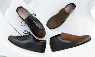 Buttero Mixes Different Leather Finishes for Fall