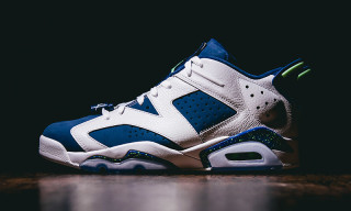 "Jordan Brand Remasters the Air Jordan 6 Retro Low in ""Ghost Green"""