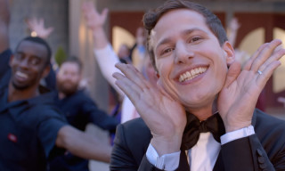 Andy Samberg Becomes a TV Addict in Emmy Opening Film