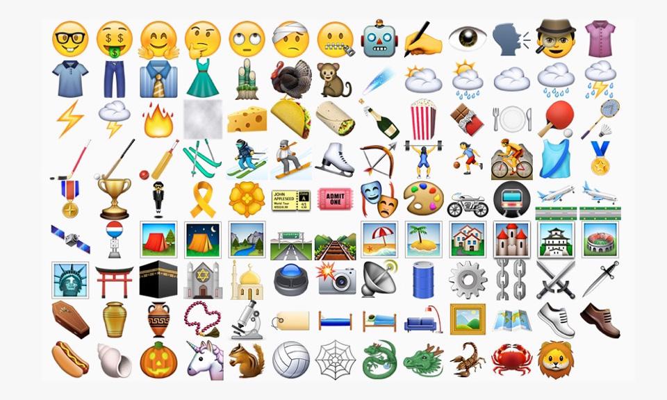 apple unveil new emojis for ios 9 1