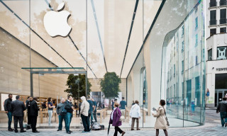 Jonathon Ive Designs Brussels' New Apple Store