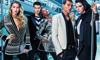 Here's Your First Look at Balmain x H&M's Upcoming Campaign