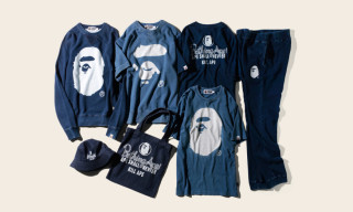 BAPE Infuse Basics With Indigo for Fall 2015
