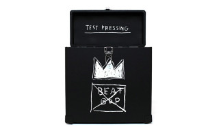 "Get On Down Releases Limited Edition Basquiat ""Beat Bop Record Box"""
