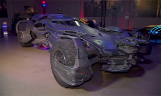 A Detailed Look at the Batmobile From 'Batman v Superman: Dawn of Justice'