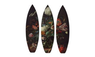 Boom-Art Presents 18th Century 'Classic Art' Surf and Skate Boards