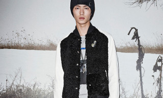 COACH Presents Shearling Baseball Jackets & Track Jackets