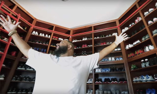 Take a Look Inside DJ Khaled's Ridiculous Floor-to-Ceiling Sneaker Closet
