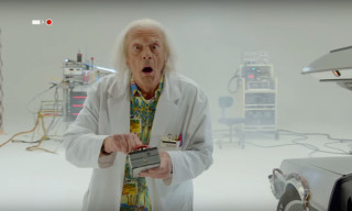 Doc Brown Returns in Exclusive New 'Back to the Future' Short